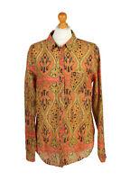 Vintage Silvian Heach Real Shirt Long Sleeve Floral Printed UK M Multi - LB167