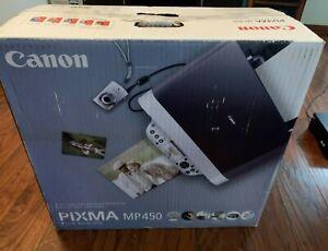 Canon Pixma MP450 - Photo All in One Printer - New Old Stock / Printer sealed!
