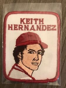 KEITH HERNANDEZ CARDINALS 1978-1979 Penn Emblem Baseball Player Patch Set Break