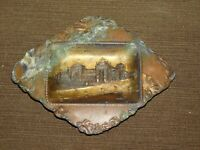 """VINTAGE 1904  4 3/4"""" W  PALACE OF LIBERAL ARTS WORLD'S FAIR ST LOUIS COPPER TRAY"""