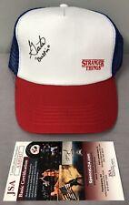 Gaten Matarazzo SIGNED Stranger Things Dustin Hat w/ JSA COA & PHOTO PROOF