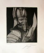 """Ernst Fuchs """"Mars"""""""