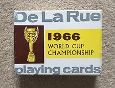 De La Rue 1966 World Cup Playing Cards New In Box