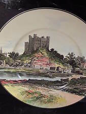Vintage Royal Doulton d6308 Rochester Castle Collector Plate 10 1/4""