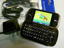 GOOD! LG Octane VN530 Camera QWERTY CDMA Bluetooth Video Flip VERIZON Cell Phone