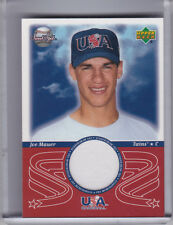 2002 SWEET SPOT #USA-JM JOE MAUER ROOKIE RC JERSEY MINNESOTA TWINS 4174
