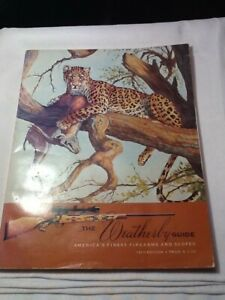 Vintage The Weatherby Guide 18th edition catalogue