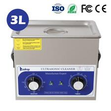 New 3l Ultrasonic Cleaner Stainless Steel Industry Heated Heater Withtimer