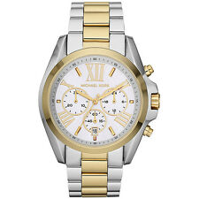 Michael Kors Bradshaw Chronograph Large Two Tone Gold Silver MK5627 Watch