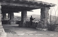 Postcard RPPC Greetings Colossal Cave Arizona AZ
