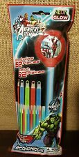 NEW Marvel Avengers Assemble NEON GLOW STICK 52 ct Value Pack 4yrs & up - Party