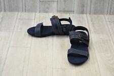 **SoftWalk Bimmer Sandals - Women's Size 8M - Blue