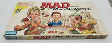 1988 Board Game Mad Magazine What - Me Worry Parker Bros Original Box Vintage
