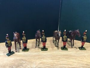 Britains: From Set 182 - 11th Hussars. Post War c1950s