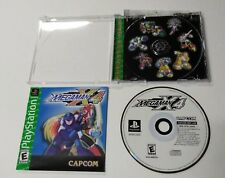 Megaman X4 PS1 (Playstation) Greatest Hits Complete