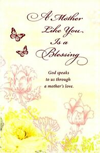 Happy Mother's Day Greeting Cards Religious Blessing God's Love Wonderful