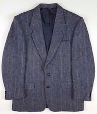 Harris Tweed 42R 2 Button Wool Vent Fully Lined Mens Size Sz Blazer Herringbone