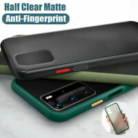 For Samsung Galaxy Note 20 S20 Ultra S21 Plus Shockproof Hard Frosted Cover Case