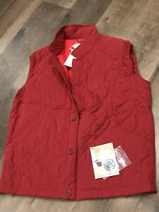 BERETTA - Quilted Vest - Large - Deep Red - Shooting - Clays - Trap - $200
