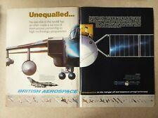 5/1979 PUB BRITISH AEROSPACE TORNADO MARECS MARITIME COMMUNICATIONS SATELLITE AD