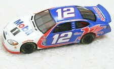 Mattel Nascar Die Cast Toy Race Car 1/24 1999 #12 Mobil 1 Jeremy Mayfield Blue