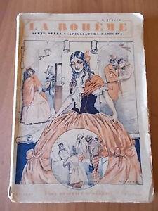 Henri Murger LA BOHEME Nerbini 1933 copertina Giove Toppi