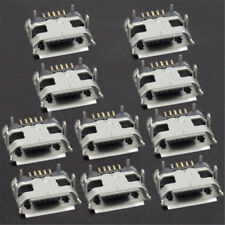 10x Micro USB Type B Female 5Pin DIP Socket 4 Legs SMT Connector Port Charging