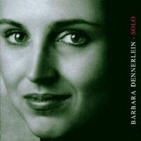 BARBARA DENNERLEIN - SOLO  CD +++++++++++++NEU