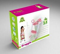 Baby Toddler Training Toilet Seat Safety Potty Step Ladder Loo Trainer Pink