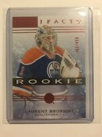 2014 - 2015 Artifacts Hockey LAURENT BROSSOIT Red Rookie #462/499