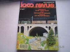 """**b Loco revue n°551 Alimentation """" Casset """" / Amélioration de la BB 12000 Jouef"""