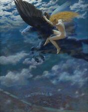 Hughes Robert Edward  Dream Idyll A Valkyrie Print 11 x 14   #4614