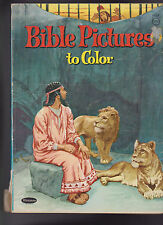 Bible Pictures to Color Whitman #1129 J Norton Stewart 1963