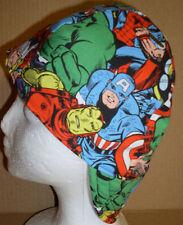 Super Heroes 2 Handmade 100% cotton, Welder, Biker, pipefitter,4 panel hat