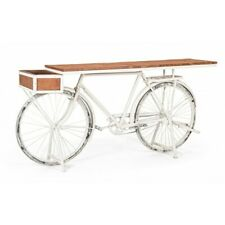 Console Table Bicycle White