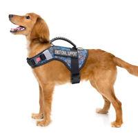 ESA Harness for Medium Large Dog Emotional Support Animal Service Vest&2 Patches