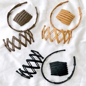 Telescopic Headbands Hairpin Women Magic Headband Hair-Hole With  Tooth Non-slip