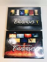 Digital Juice Animated Canvases Collections 1 and 2 Complete (2 is New Sealed)