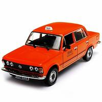 FIAT 125 TAXI 1:43 Scale Model Toy Car Poland Polish Model Car diecast miniature