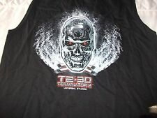 new tagged T2 3D VEST TOP UNIVERSAL STUDIOS TERMINATOR 2 KIDS 32 iNCH CHEST