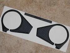 Fibra De Carbono efecto yugo cubierta para caber Kawasaki Zx10 Zx10r 2006 - 2010