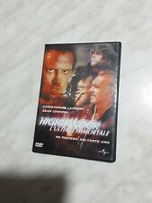 """""""HIGHLANDER L'ULTIMO IMMORTALE"""" C.LAMBERT- S.CONNERY DVD OTTIME CONDIZIONI SIAE"""