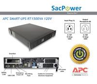 APC Smart-UPS RT 1500VA UPS Rackmount New Batteries 1 Year Warranty