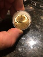 """Omega Rd Watch Movement 17 jewels. caliber # 620 for parts or restore """"it Ticks"""