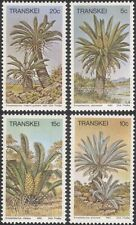 Transkei 1980 Cycads/Plants/Nature/Succulents/Cycad/Flowers 4v set (b9977b)