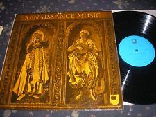 Musica CLASSICA rinascimentale LP Open University FRUTTA 201 STEREO 1972 Quasi Nuovo