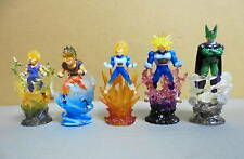 Bandai DragonBall Z Ultimate Spark Clear Figure set Son Goku Gohan Vegeta Cell