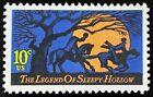 1974 10c Sleepy Hollow, Headless Horseman, Irving Scott 1548 Mint F/VF NH