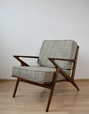 "Hand Made ""Z Chair"" in the spirit of danish mid-century design."