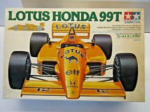Tamiya 1:20 Scale Camel Lotus Honda 99T Model Kit - New - Kit # 2020**1200 Senna